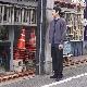 crepuscule(クレプスキュール) | MOKU KANOKO C/D (杢 鹿の子カーディガン) - BLUE × BROWN