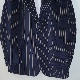NEEDLES(ニードルズ) | 2B Jacket -Stripe Velveteen ( 2B ジャケット-ストライプベロア) - Navy (Brown Stripe)