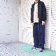 STUDIO NICHOLSON(スタジオニコルソン) | SORTE / PEACHED COTTON TWILL CLASSIC VOLUME PLEAT PANT(ピーチドコットンツイルクラシックボリュームプリーツパンツ) - DARK NAVY