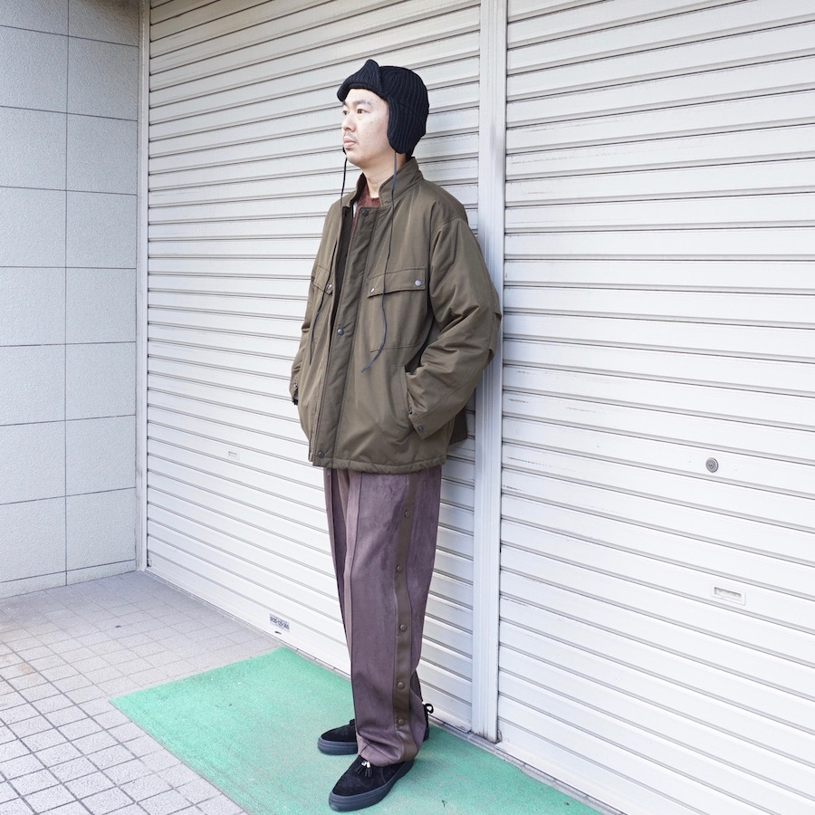 NEEDLES(ニードルズ) | C.P. Jacket - Peach Weather (シーピージャケット - ピーチウェザー) - Olive