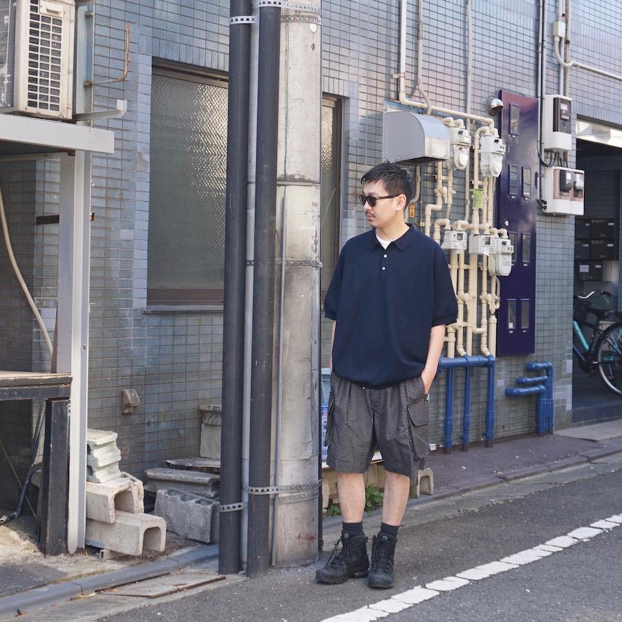 NICENESS(ナイスネス)   TORABI (NN BARREL BAGGY SHORTS ) - BLACK