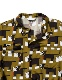 Sasquatchfabrix.(サスクワァッチファブリックス) | NORAKURO RIB SHIRT ( のらくろ リブシャツ) - HOUND's TOOTH PATTERN
