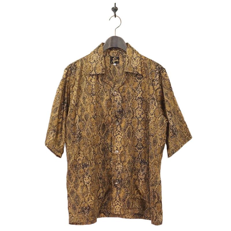 NEEDLES(ニードルズ) | Cabana Shirts - Python PT (カバナシャツ- パイソン) - YELLOW
