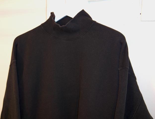 MAISON EUREKA(メゾンエウレカ)/HIGH NECK SWEAT SHIRTS(ハイネック スウェットシャツ)
