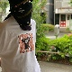 Sasquatchfabrix.(サスクワァッチファブリックス) | NORAKURO PORTRAIT T-SHIRT (のらくろポートレイトTシャツ) - C