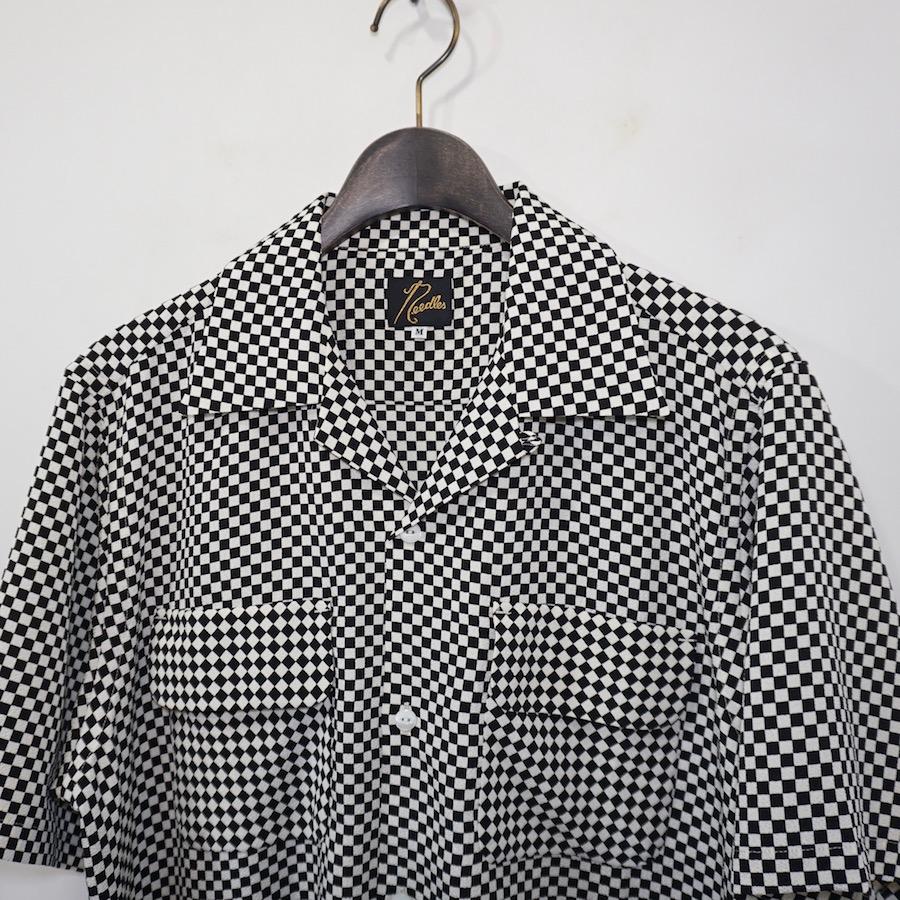 NEEDLES(ニードルズ) | C.O.B S/S CLASSIC SHIRT - POLY CREPE (ショートスリーブクラシックシャツ) - ICHIMATSU