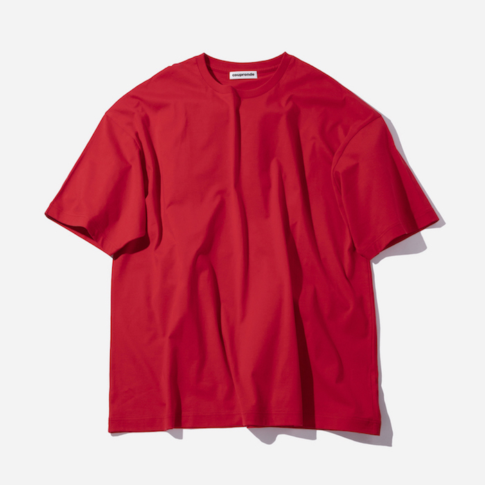 coupronde (クープロンド) | TEE-SHIRTS (Tシャツ) - RED