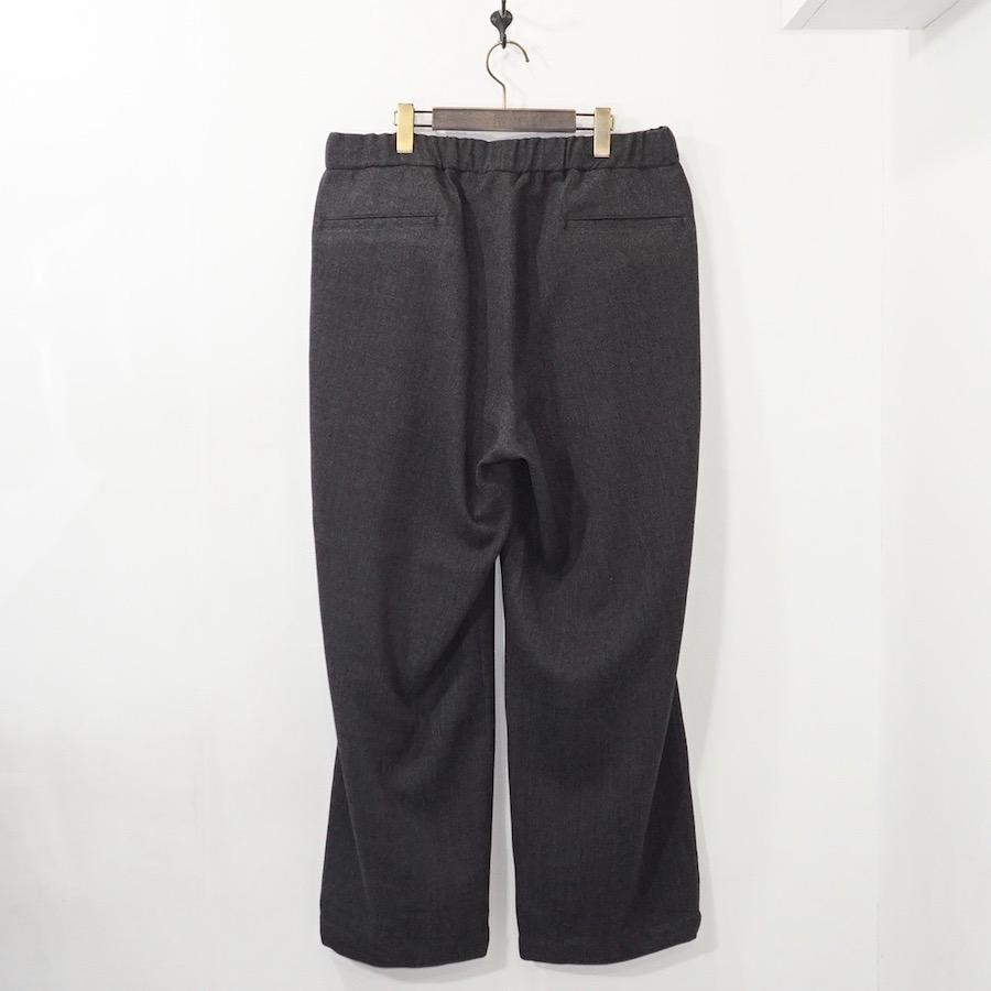 STRIPES FOR CREATIVE / S.F.C (ストライプス フォー クリエイティブ) | WIDE PANTS (ワイドパンツ) - Charcoal Grey