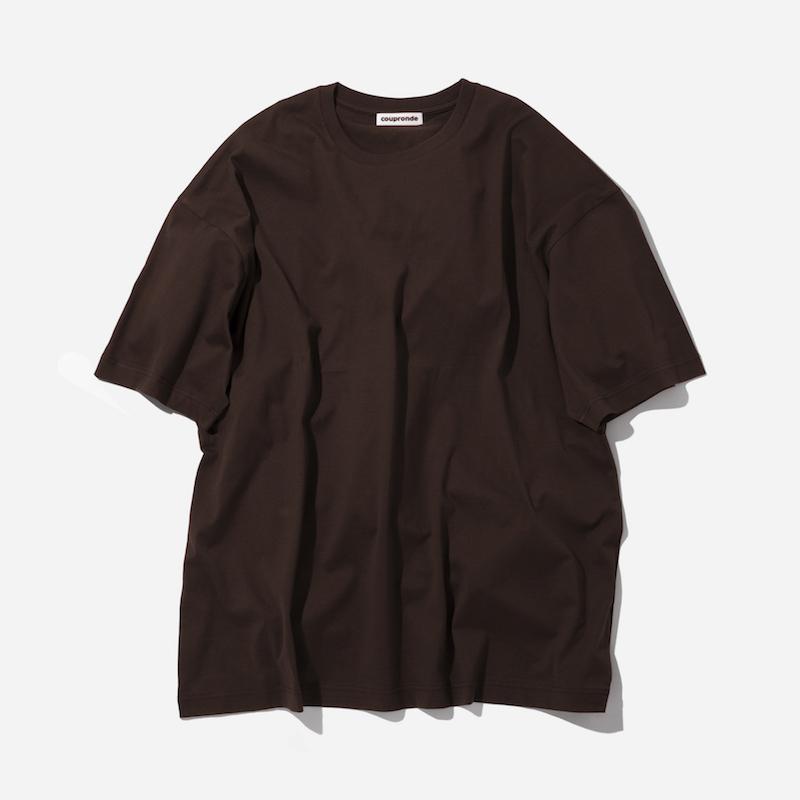 coupronde (クープロンド) | TEE-SHIRTS (Tシャツ) - BROWN