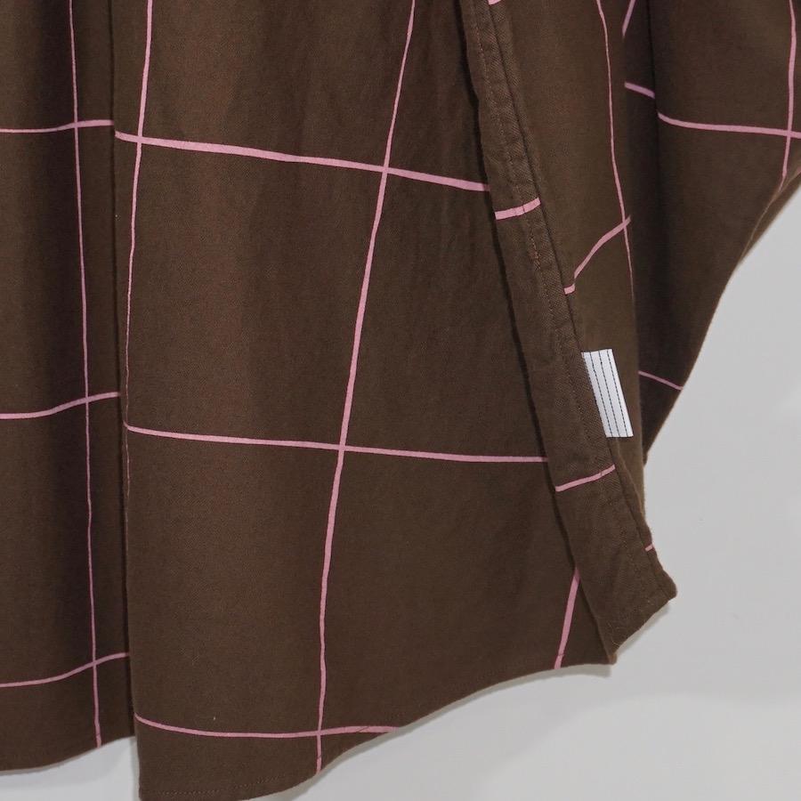 STRIPES FOR CREATIVE / S.F.C (ストライプス フォー クリエイティブ) | SFC SHIRT (エスエフシーシャツ) - Chocolate / Pink Check