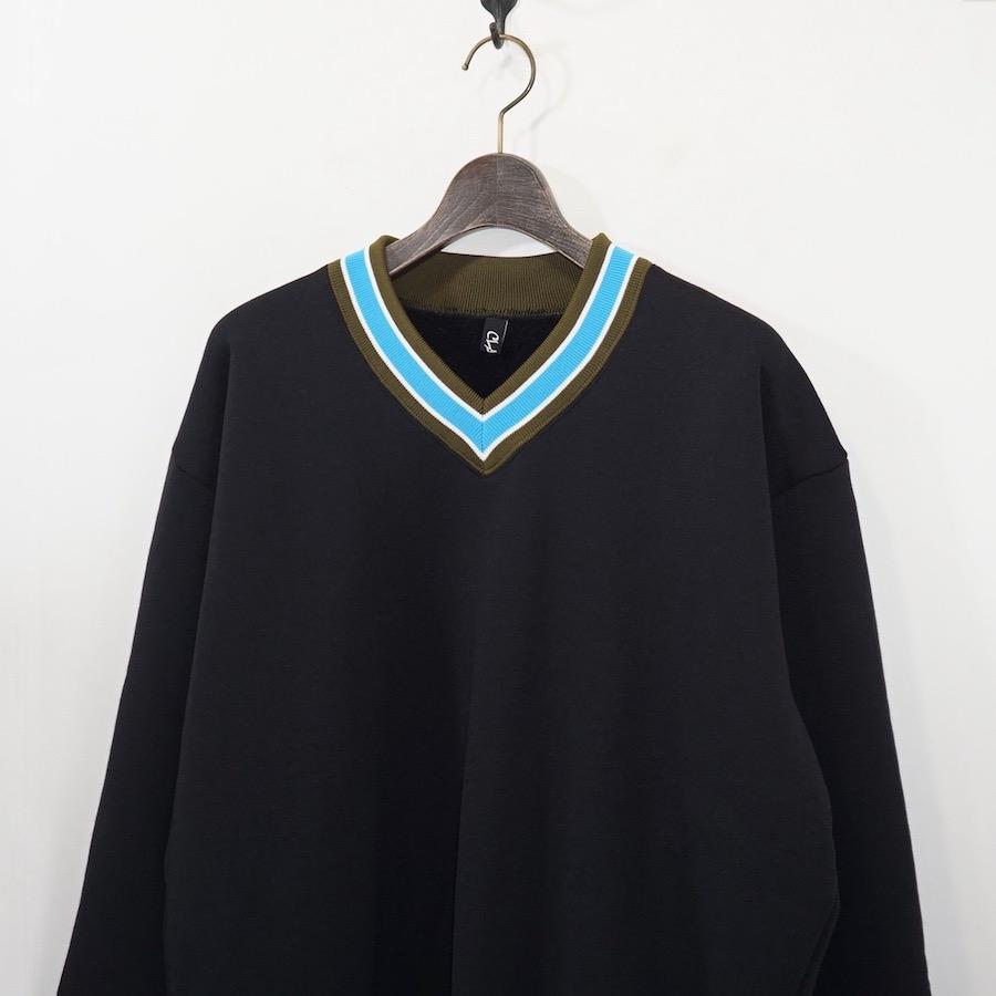 CLASS(クラス) | COCKSCOMB (プルオーバーカシミアフリース) - BLACK