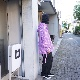 NANUA (ナヌーア) | circle pattern smock parka (サークルパターン スモックパーカー) - HAND STAMP PURPLE BATIK