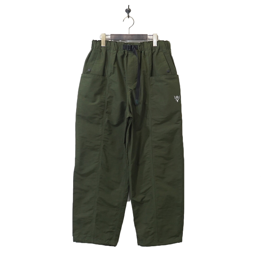 SOUTH2WEST8(サウスツーウエストエイト) |Belted C.S. Pant - C/N Grosgrain (ベルテッドシーエスパンツ) - Olive