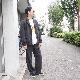 Sasquatchfabrix.(サスクワァッチファブリックス) | 70-21 CORDUROY FLARE 5 POCKET PANTS (70-21 コーデュロイ フレア5ポケットパンツ) - BLACK