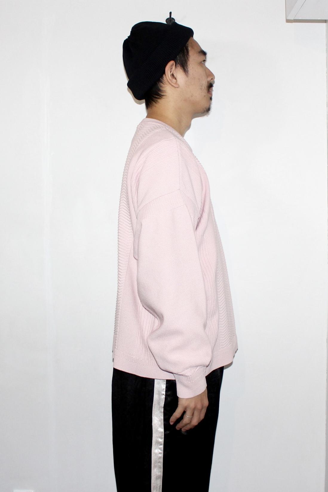 YASHIKI(ヤシキ) | Samon Knit(砂紋ニット)