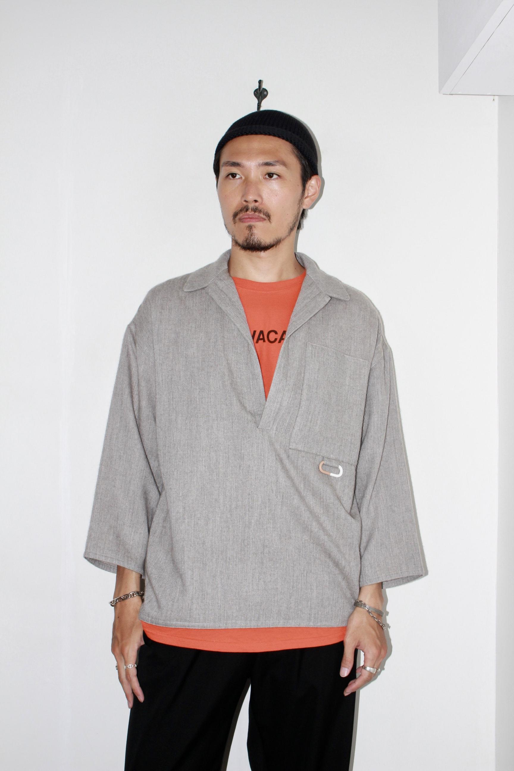 CLASS(クラス) | KANBATSU / SKIPPER SHIRT(スキッパーシャツ)