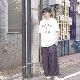 Sasquatchfabrix.(サスクワァッチファブリックス) | NYLON HAKAMA PANTS (ナイロンハカマパンツ) - BLACK BERRY