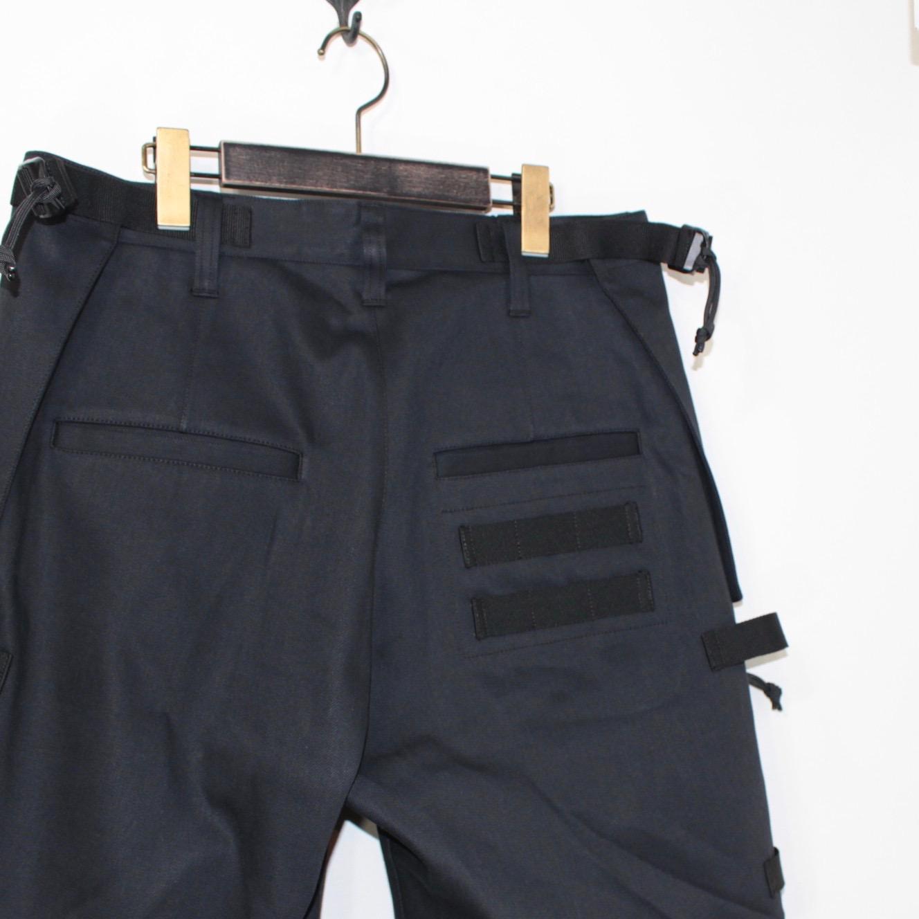 MOUT RECON TAILOR×Wild Things(マウトリーコンテーラー×ワイルドシングス)    Jet Black Denim Shell Short(ジェットブラックデニム シェルショーツ)