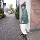 Neweye(ニュウアイ) | H C jumper (HCジャンパー) - GREEN