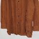 CCU (シーシーユー)   REGULAR COLLAR SHIRT (レギュラーカラーシャツ) - CAMEL