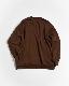 coupronde (クープロンド) | SWEAT SHIRTS (スウェットシャツ) - CAMEL