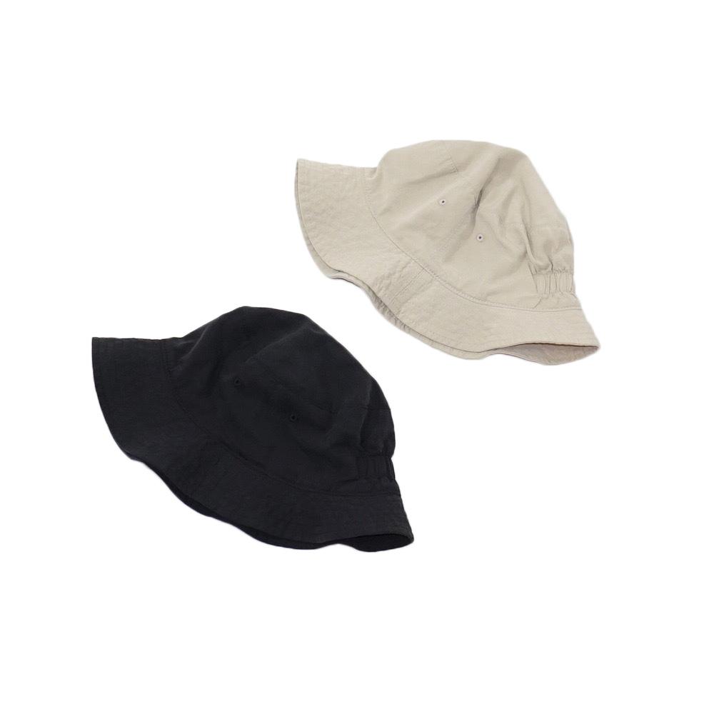bocodeco (ボコデコ)   Gabardine W-Face Hat (ギャバジン ダブルフェイスハット) - BEIGE , BLACK