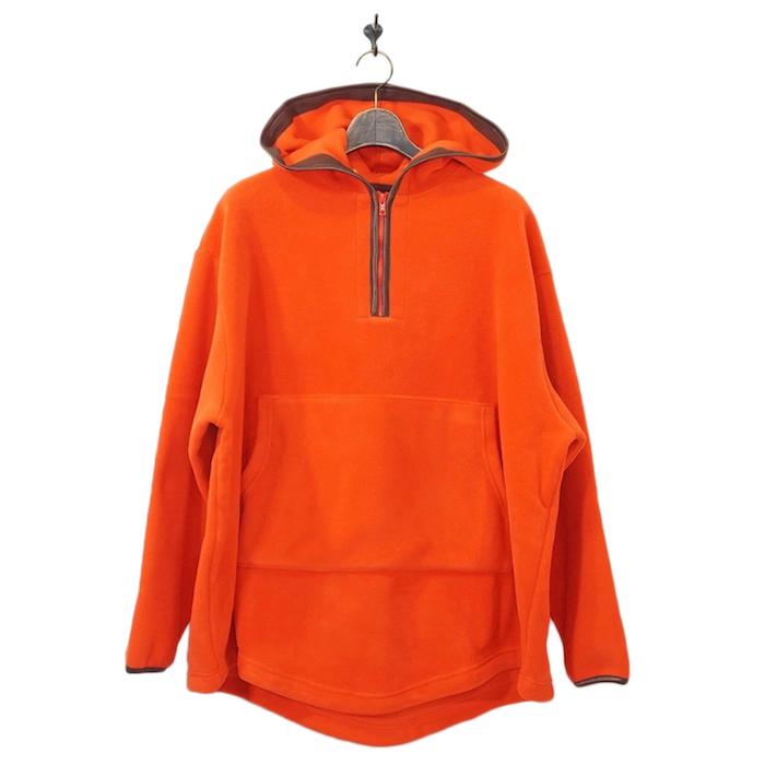 Neweye(ニュウアイ)   Fleece parka (フリースパーカー) - Orange