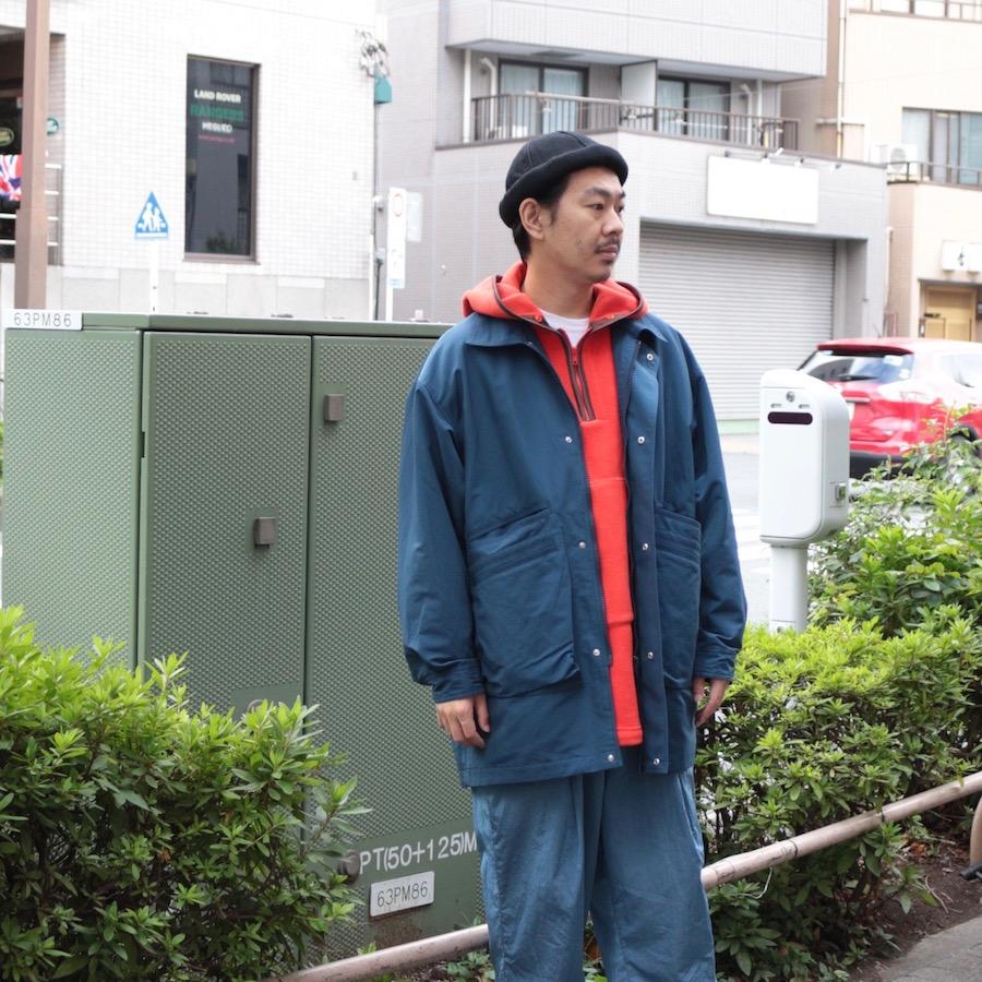 Neweye(ニュウアイ) | Fleece parka (フリースパーカー) - Orange