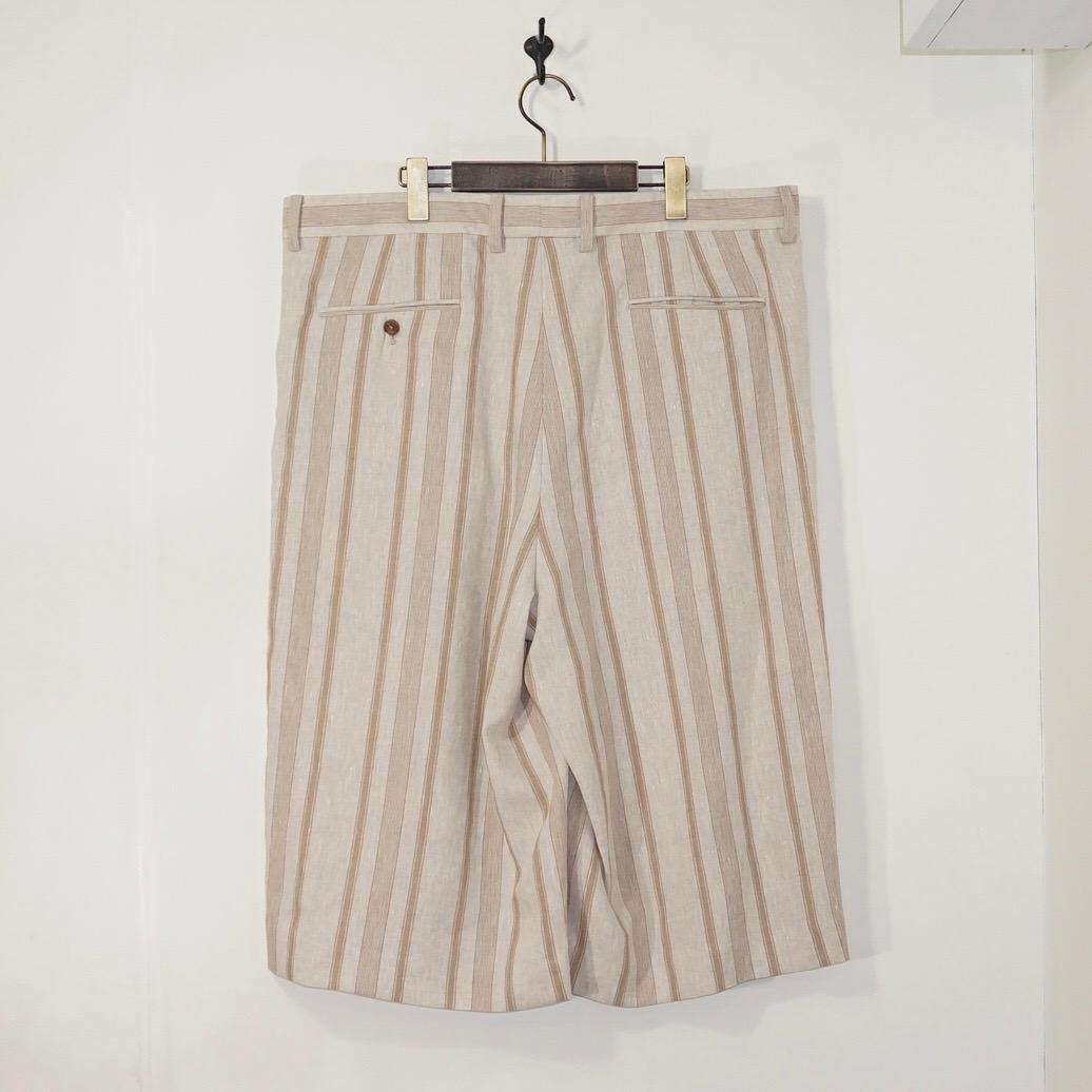 URU(ウル) | 20SLSC03 / LINEN SEMI CREPE EASY PANTS (リネンセミクレープイージーパンツ) - CARAMEL