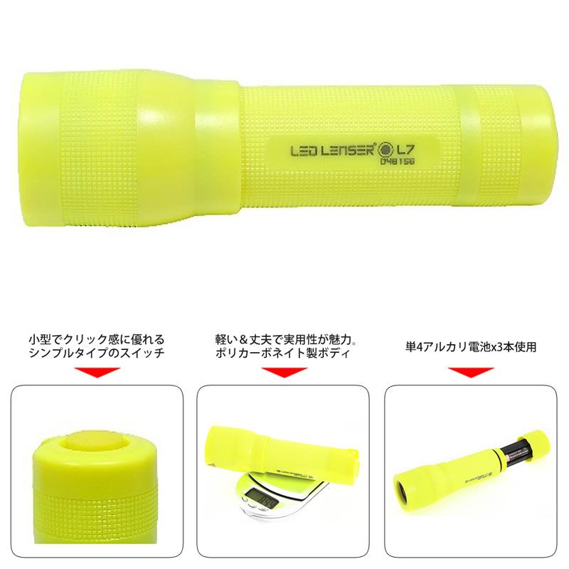 Ledlenser L7 Yellow