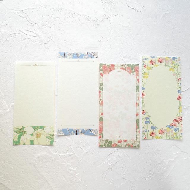 cozyca products 美濃和紙一筆箋<br>Emily Burningham「Primulas」