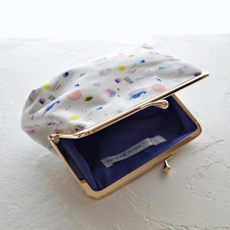 cozyca products 帆布がま口 コスメポーチ
