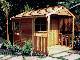 入荷未定 木製小屋 シダーシェッド社 クラブハウス (8×12type) 約6平米 1.8坪 木製物置 ※要荷降ろし手伝い