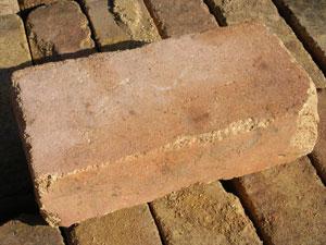 リーベのアンティーク耐火レンガ/1個/約3.7kg