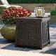 ガーデンテーブル 収納 ラタン調テーブルボックス(S) BMDB1300 ※北海道+500円