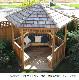ガゼボ シダーシェッド社 Hexagon 6角形 (8feet) 約5.1平米 ※要荷降ろし手伝い