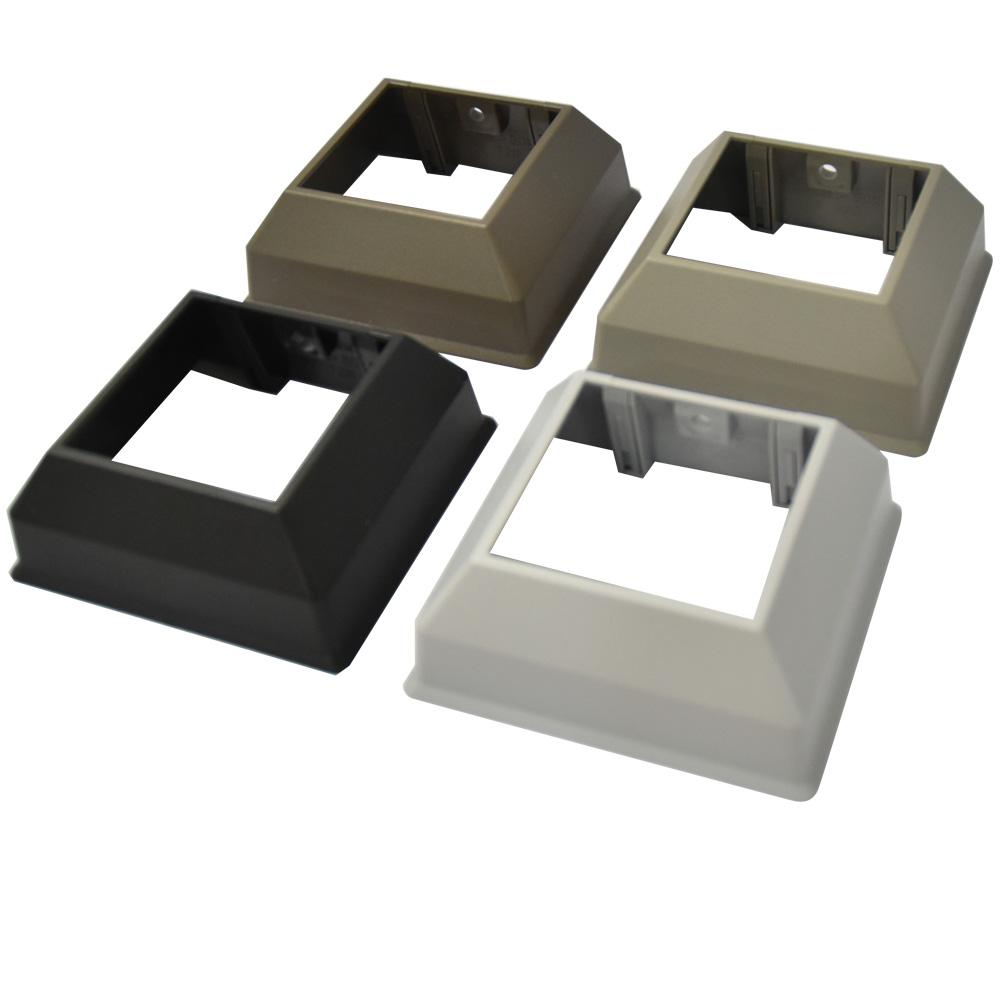 アルミ支柱50角用化粧カバー(平場用) No2ビス付
