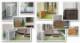 5月末〜順次発送 室外機カバー 幅101cm 木製 ライトブラウン 出格子風 cudc-LBR ストライプ エアコンカバー