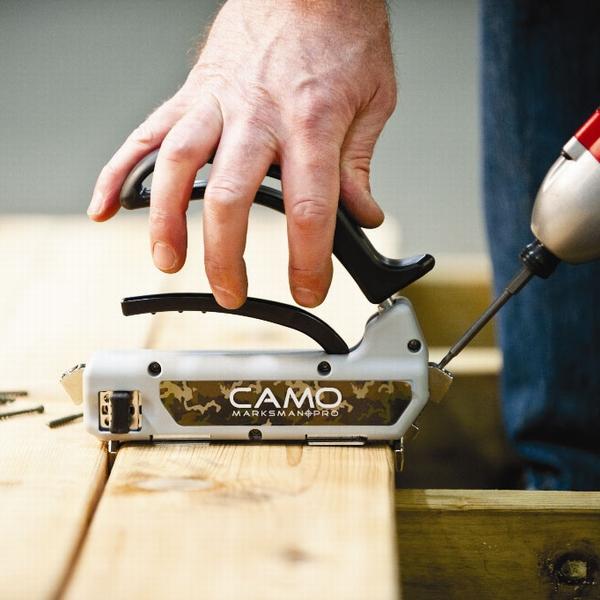 CAMO専用 マークスマンシリーズ専用 ステンレスビス トリムヘッド 48mm×#7g (専用ビット1本付き) 【350本入り】 (約2.5kg) 隠しビス工法