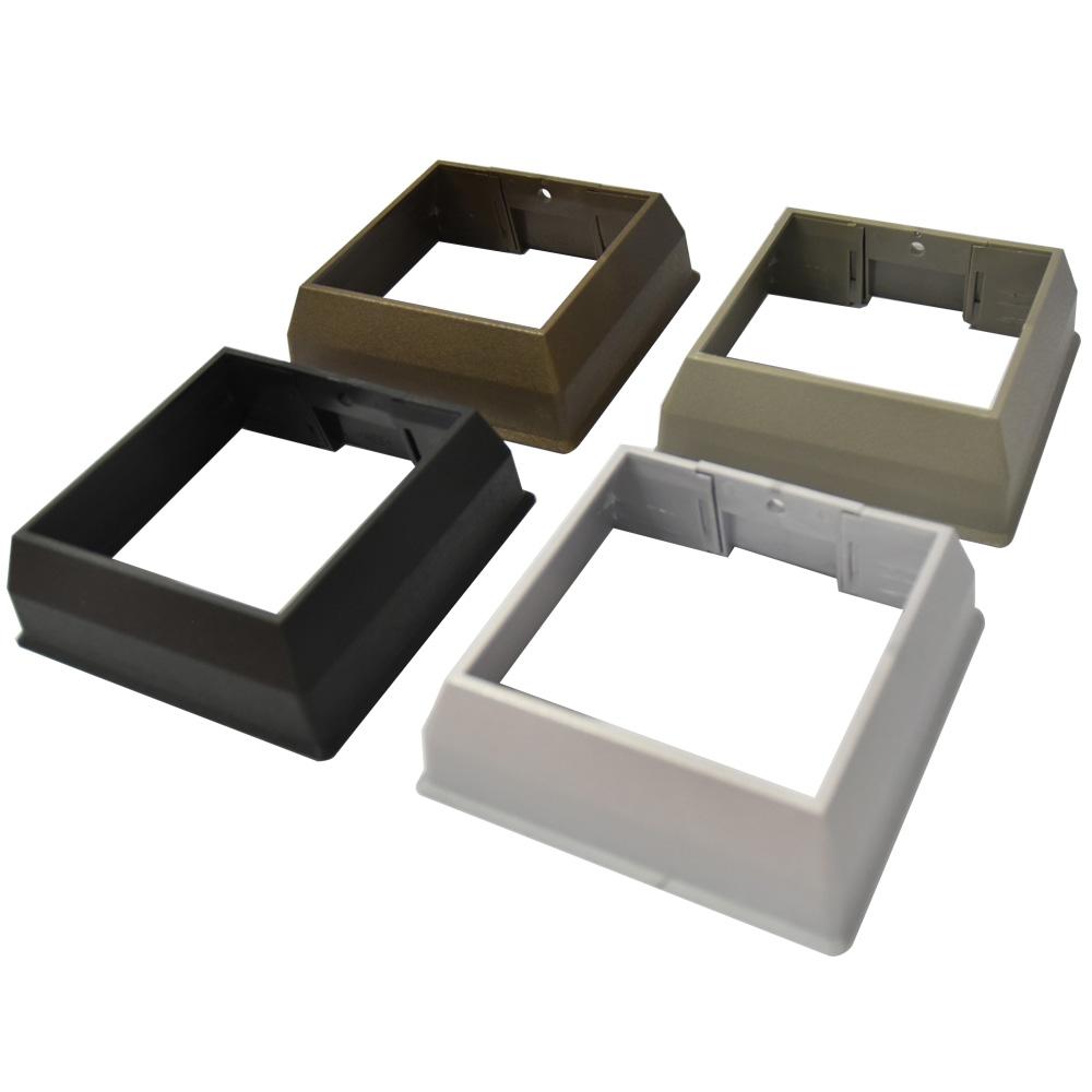 アルミ支柱75角用化粧カバー(平場用) ビス付