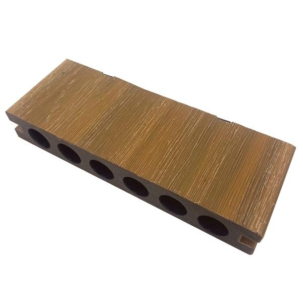 プラチナデッキ床材(LIGHT BROWN)・デッキサンプル 23×140×50 【お一人様一点限り】