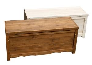 収納付きベンチ スツール 幅90cm 木製 ライトブラウン ボックスベンチ幅90 BB-W90BR ※北海道+1100円