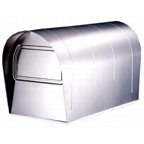 郵便ポスト ステンレスアメリカンポスト US-43 メールボックス 鍵なし ※ポール別売