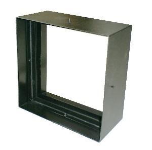 ステンドグラス専用ステンレス枠 SH-D用 (200角 エクステリア用) SHF-VD1 ブラック ※代引不可