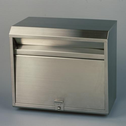 郵便ポスト ステンレスポスト PH-80 大型 メールボックス