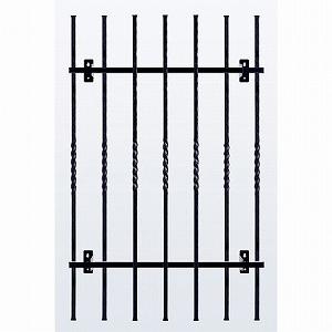 窓格子 アルミ鋳物 高さ1100mm 取付ピッチ680mm (MGF117206)