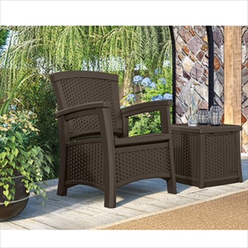 ガーデンチェア アームチェア ラタン調クラブチェア TOSHO サンキャスト 肘付き 椅子 ガーデンファニチャー ※北海道+500円