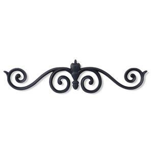 アルミ鋳物 妻飾り(オーナメント)・壁飾り (IT7218)
