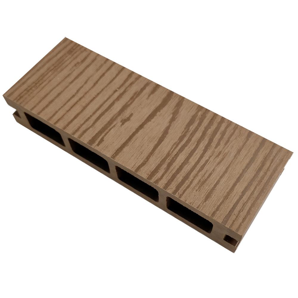オーロラデッキ床材(LIGHT BROWN)・デッキサンプル 25×140×50 【お一人様一点限り】