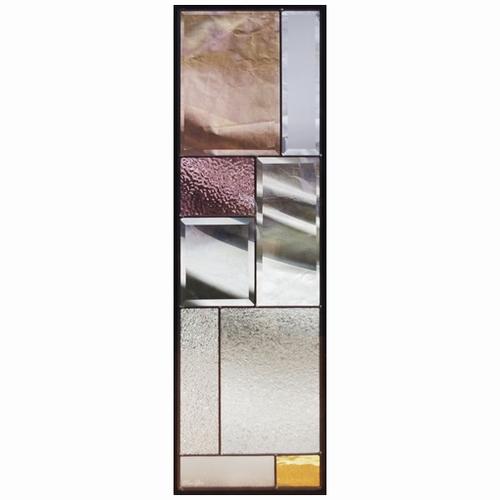 ステンドグラス (SH-C30) 927×289×18mm デザイン モダン ピュアグラス Cサイズ (約8kg) メーカー在庫限り ※代引不可